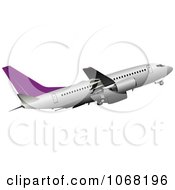 Clipart Airbus 15 Royalty Free Vector Illustration