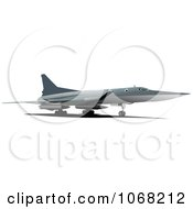 Clipart Airbus 5 Royalty Free Vector Illustration