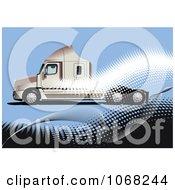 Big Rig Logistics Background 2 by leonid