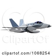 Clipart Air Force Jet 2 Royalty Free Vector Illustration