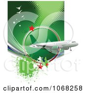 Clipart Airbus Background 8 Royalty Free Vector Illustration