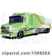 Logistics Big Rig Truck 1 by leonid