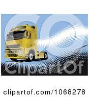 Big Rig Logistics Background 3 by leonid