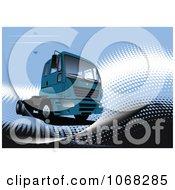 Big Rig Logistics Background 1 by leonid