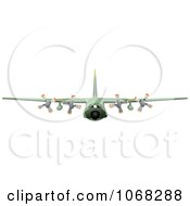 Clipart Airbus 2 Royalty Free Vector Illustration