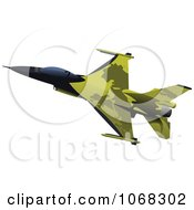 Clipart Air Force Jet 3 Royalty Free Vector Illustration