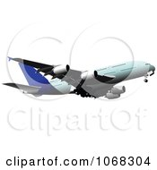 Clipart Airbus 6 Royalty Free Vector Illustration