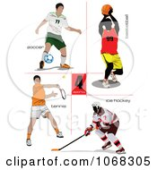 Male Athletes by leonid