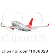Clipart Airbus 1 Royalty Free Vector Illustration
