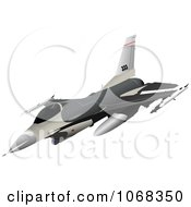 Clipart Air Force Jet 4 Royalty Free Vector Illustration