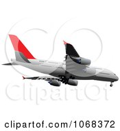 Clipart Airbus 3 Royalty Free Vector Illustration