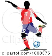 Clipart Soccer Athlete 3 by leonid