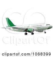 Clipart Airbus 7 Royalty Free Vector Illustration