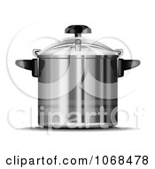 Clipart 3d Pressure Cooker Royalty Free Vector Illustration by Oligo