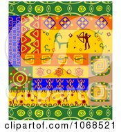 Clipart Ethnic Patterns Set 5 Royalty Free Vector Illustration