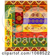 Clipart Ethnic Patterns Set 4 Royalty Free Vector Illustration