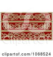 Clipart Irish Celtic Borders 3 Royalty Free Vector Illustration