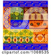 Clipart Ethnic Patterns Set 3 Royalty Free Vector Illustration