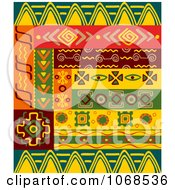 Clipart Ethnic Patterns Set 6 Royalty Free Vector Illustration