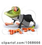 Clipart 3d Springer Frog In A Tux 2 Royalty Free CGI Illustration
