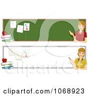 School Teacher Website Banners