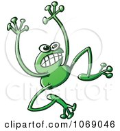 Clipart Goofy Green Froggy 4 Royalty Free Vector Illustration