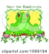 Frog And Save The Rainforests Text