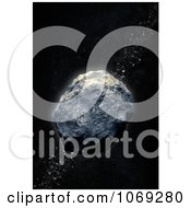 Clipart 3d Asteroid Belt Royalty Free CGI Illustration by Mopic