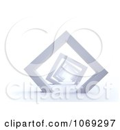 Clipart 3d Tunnel Of Frames Royalty Free CGI Illustration