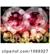 Clipart Colorful Bokeh Light Background Royalty Free Illustration