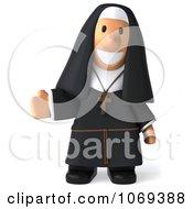 3d Nun Presenting 1