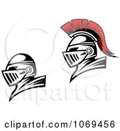 Clipart Roman Soldiers 7 Royalty Free Vector Illustration