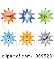 Clipart 3d Burst Website Buttons 1 Royalty Free Vector Illustration by Andrei Marincas