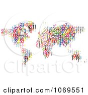 Clipart Number World Atlas Royalty Free Vector Illustration