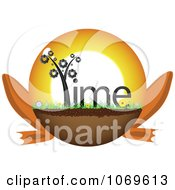 Clipart Time Frog Legged Ball Royalty Free Vector Illustration by Andrei Marincas