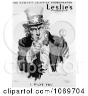 Clipart Of The Nations Crisis I Want You Uncle Sam Royalty Free Historical Stock Illustration by JVPD