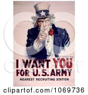 I Want You For US Army Uncle Sam