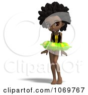 Clipart 3d Black Lifeguard Woman With An Inner Tube Royalty Free CGI Illustration