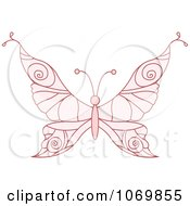 Pale Pink Butterfly