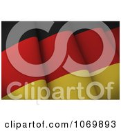 Clipart 3d Closeup Of A German Flag Royalty Free CGI Illustration by stockillustrations