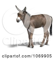 Clipart 3d Mule 3 Royalty Free CGI Illustration