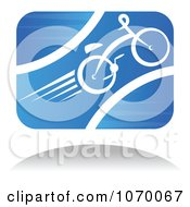 Clipart Cyclist Icon And Shadow 5 Royalty Free Vector Illustration by Seamartini Graphics