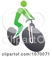 Clipart Cyclist Icon 7 Royalty Free Vector Illustration by Seamartini Graphics
