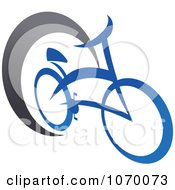 Clipart Cyclist Icon 9 Royalty Free Vector Illustration by Vector Tradition SM
