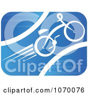 Clipart Cyclist Icon 5 Royalty Free Vector Illustration by Seamartini Graphics