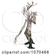 Clipart 3d Ent Tree Stopping 1 Royalty Free CGI Illustration