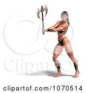Clipart 3d Sexy Warrior Princess 10 Royalty Free CGI Illustration