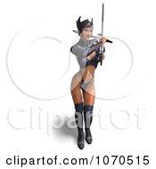 Clipart 3d Sexy Warrior Princess 8 Royalty Free CGI Illustration