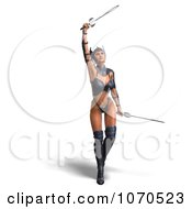 3d Sexy Warrior Princess 7