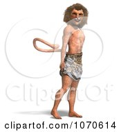 Clipart 3d Lion Man 6 Royalty Free CGI Illustration